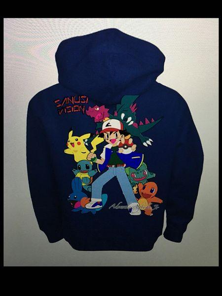 Pokemon kids hoodie