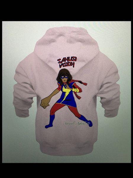 Ms Marvel infants hoodie