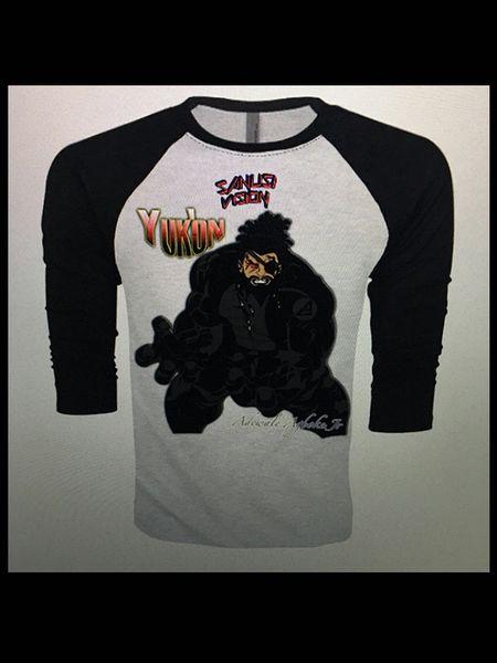 Yukon baseball long sleeve tshirt