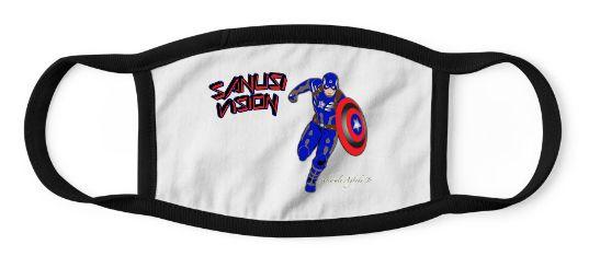 Captain America kids mask