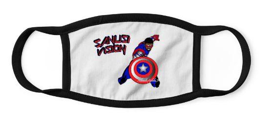 Captain America2 kids mask