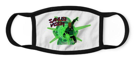Green Lantern kids mask
