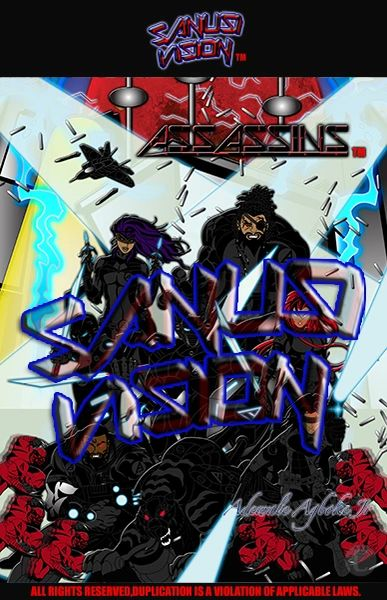 Assassins 24in x 36in Poster