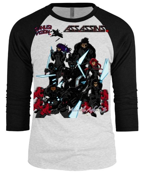 Assassins baseball long sleeve tshirt