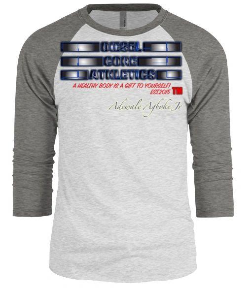 Diesel Core Athletics baseball long sleeve tshirt