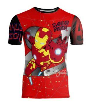Ironman limited edition custom tshirt