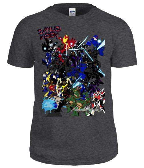 Allstar custom tshirt