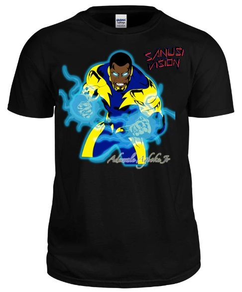 Black Lightning Tshirt