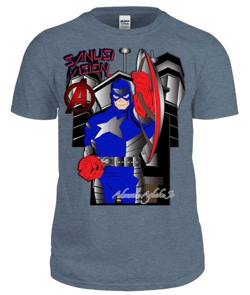 Captain America classic tshirt
