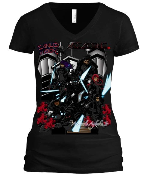 Assassins Womens Tshirt