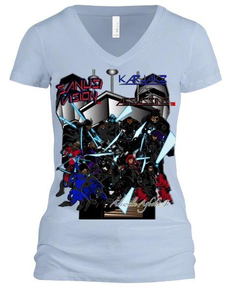 Karjakz vs Assassins Womens Tshirt