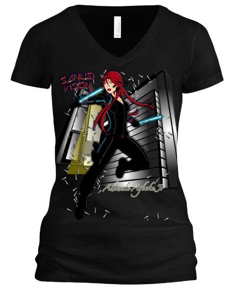 Black Widow Tshirt