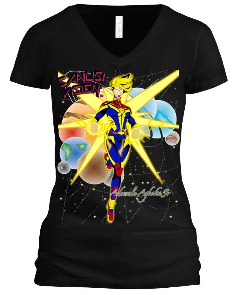 Captain Marvel Tshirt