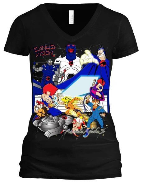 Thundercats limited edition custom tshirt