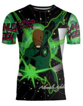 Green Lantern limited edition custom tshirt