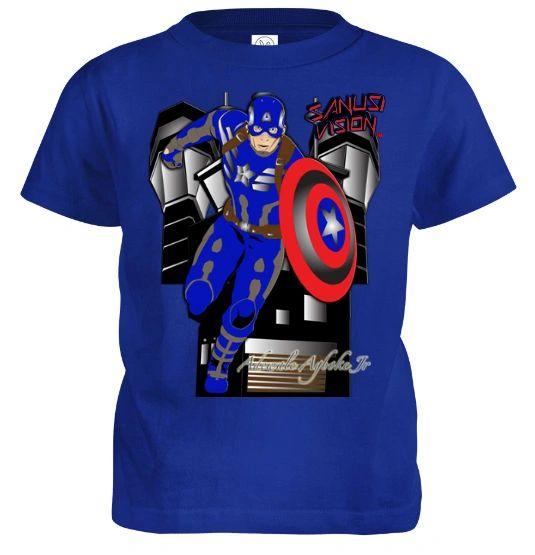 Captain America Kids Tshirt