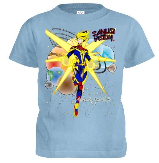 Captain Marvel kids tshirt