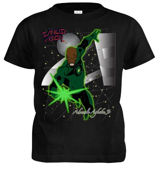 Green Lantern kids tshirt
