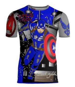Captain America Limited Edition Custom Tshirt