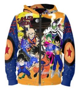 Dragonball Z limited edition hoodie