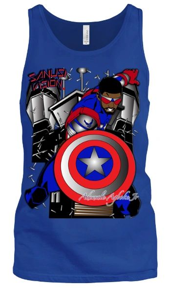 Captain America2 tank top