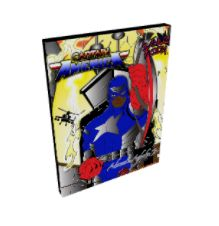 Captain America2 canvas