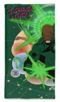 Green Lantern neck tube