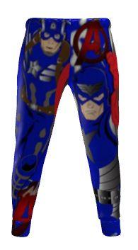 Captain America athletic pants