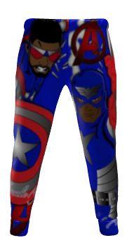 Captain America2 athletic pants