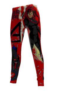 Kanji athletic pants