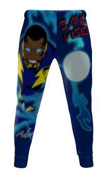 Black Lightning athletic pants