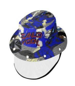 Escalade bucket hat with face shield