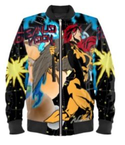 Hawkgirl bomber jacket