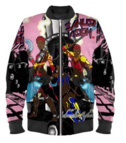 Dora Milaje bomber jacket