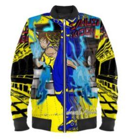 Chunli bomber jacket
