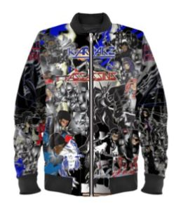 Karjakz Vs Assassins classic bomber jacket
