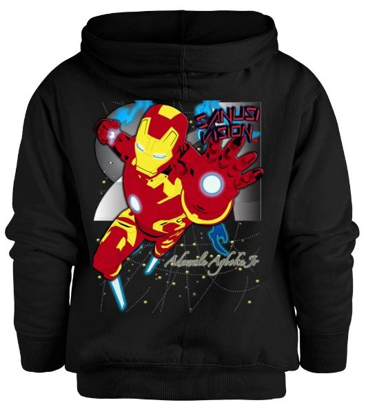Ironman kids hoodie