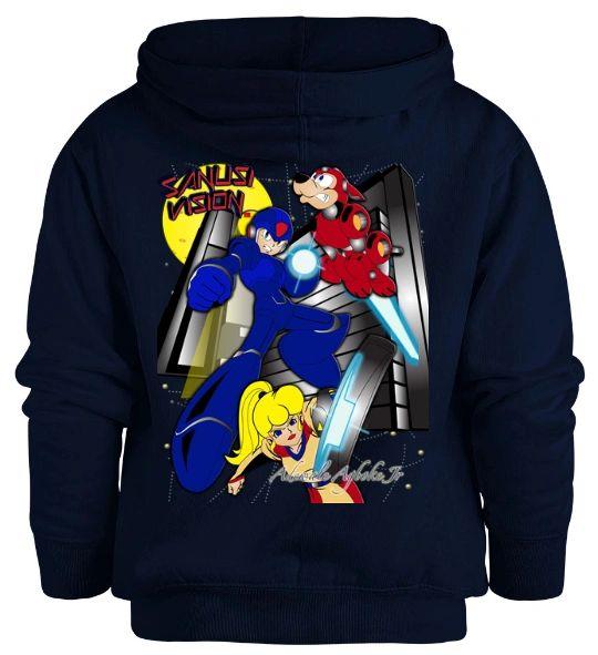 Megaman kids hoodie