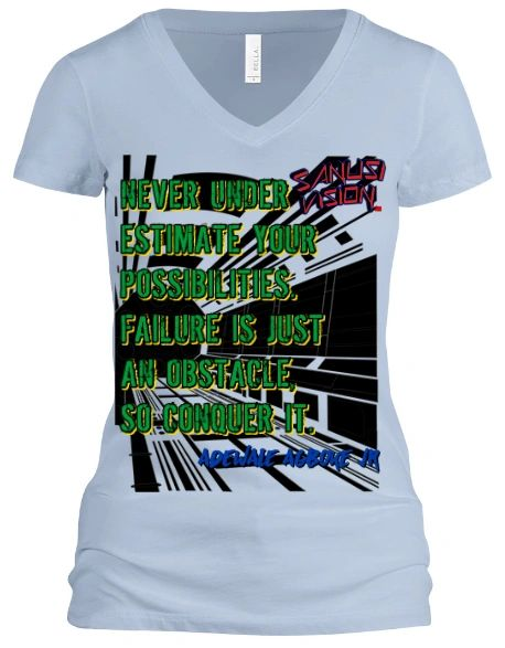 Never under estimate tshirt