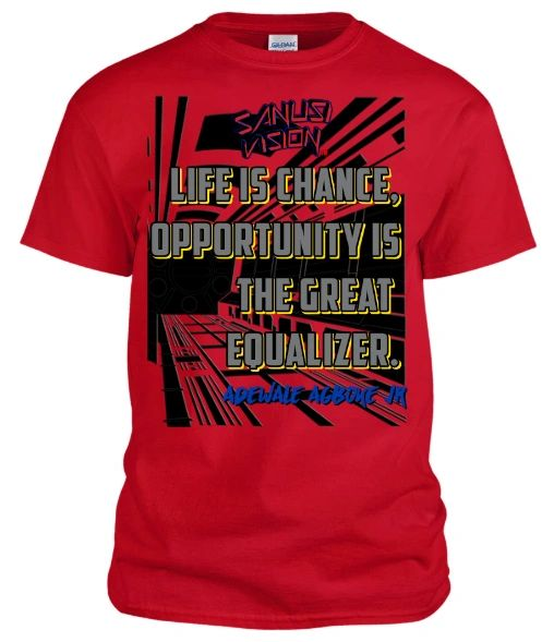 Life is chance tshirt