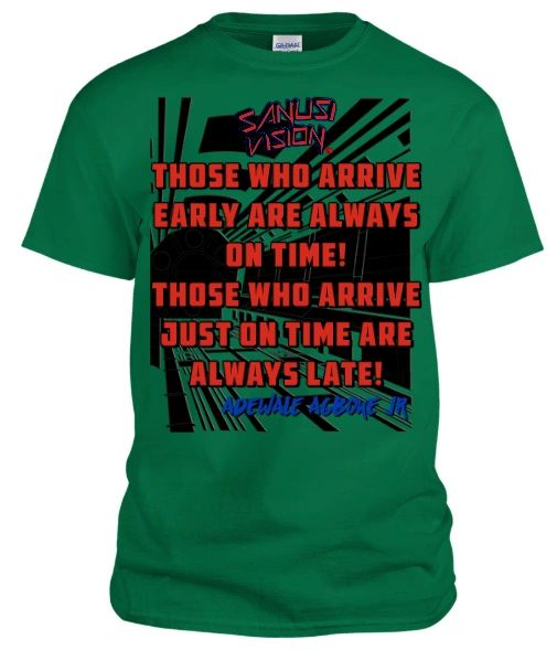 Those who arrive tshirt