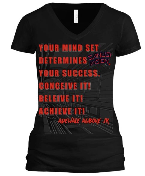 Mind set womens tshirt