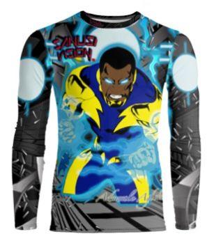 Black Lightning long sleeve tshirt