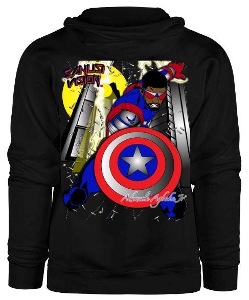 Captain America2 Hoodie
