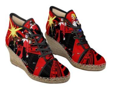 Harley Quinn wedge batazr