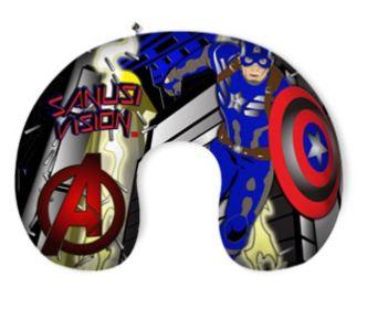 Captain America travel pillow
