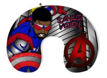 Captain America2 travel neck pillow