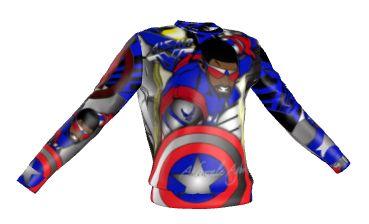 Captain America2 sweater
