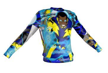 Black lightning sweater