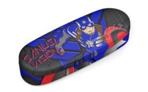 Captain America glasses case